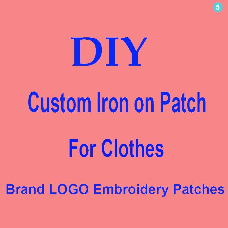 Изготовленный на заказ логотип бренда заплата вышивки Diy утюг на буквы патчи для одежды куртки термо-Стикеры для одежды на одежде знак аппли...