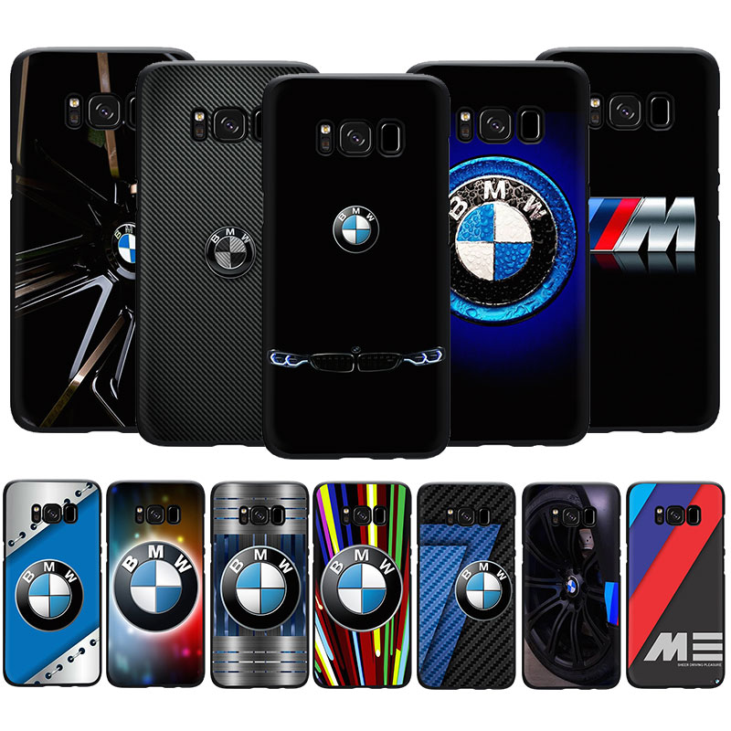 EWAU BMW logo Silicone phone case for Samsung S6 S7 Edge S8 S9 S10 Note 8 9 10 plus S10e M10 M20 M30 M40 image