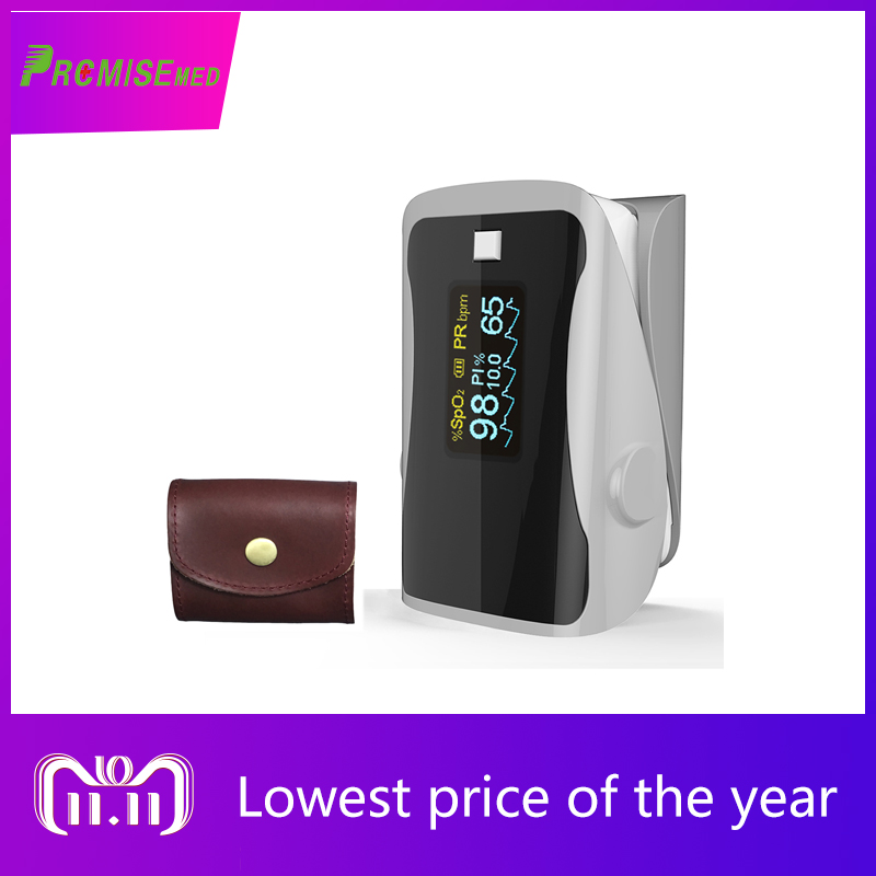 PRCMISEMED Household Health Monitors Pulse Oximeters Finger Oxygen Fingertip Oximeter SPO2 Oximetro-gray