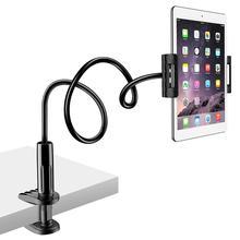360 obracanie elastyczne długie ramiona uchwyt telefonu komórkowego pulpit łóżko wspornik dla leniwych stojak podstawka do telefonu dla iPhone iPad Samsung Redmi tanie tanio