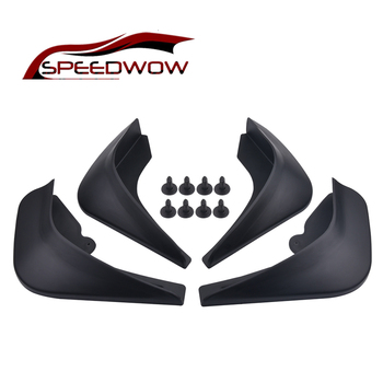 Car Mud Flaps Front Rear Fender Flares Auto Mudflaps Splash Guards Protector For Ford/Focus 2 MK2 MK2.5 Saloon Sedan 2005-2011 image