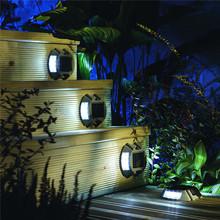 Zasilany energią słoneczną światła pokładowe LED podjazd dok światło słoneczna ogrodowa wodoodporna droga podjazd markery chodnik schodek tanie tanio BEIAIDI CN (pochodzenie) ROHS Outdoor Solar LED Pathway Road Marker Stud Light 1 Year DMD-8Lv-6Leds IP65 Z aluminium Klin
