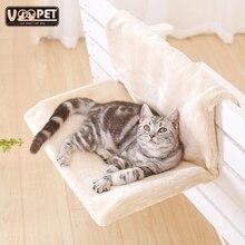 Legowisko dla kota zdejmowany parapet okienny kot grzejnik salon hamaki dla kota Kitty wiszące łóżko przytulny przewoźnik łóżko dla zwierząt hamak siedzenia