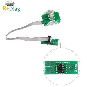 Новейший OEM FEM-BDC 95128/95256 чип Противоугонный адаптер для чтения данных 8-контактный адаптер Поддержка XPROG/UPA/Iprog +/оранжевый/CG9S12/VVDI