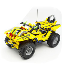 514pcs 2in1 Pick Up King Technic Series RC Car Building Blocks Radio Control Off-Road Truck Remote Control Car Toys For Children цена в Москве и Питере