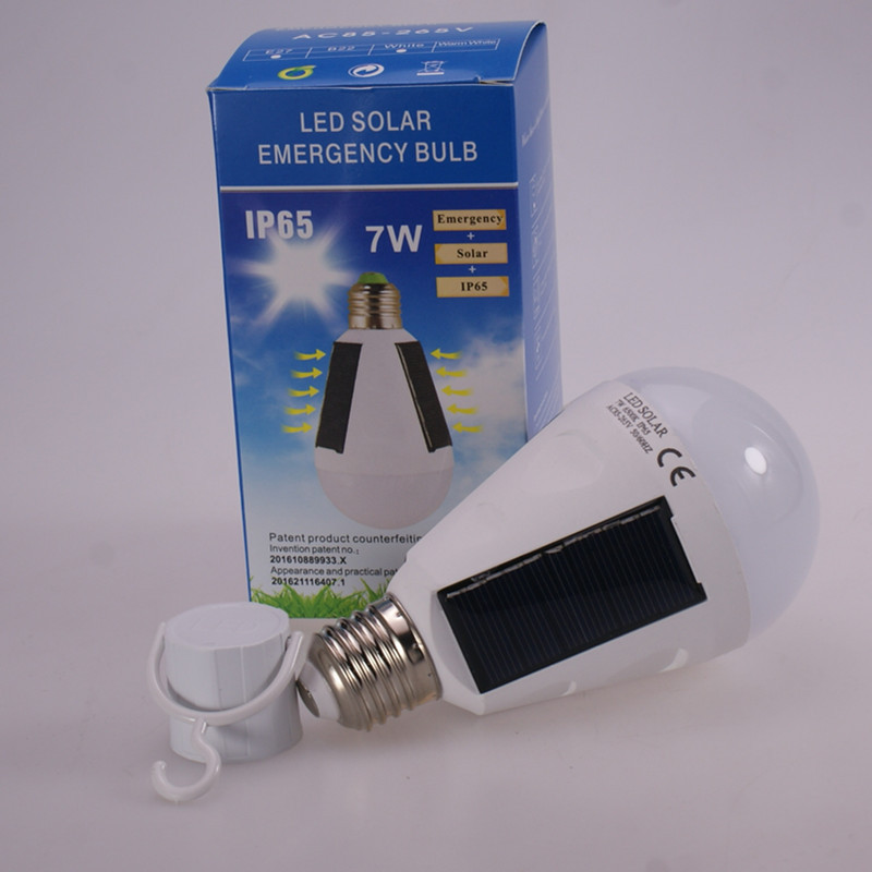 H13a85a69b3ca46f9ae62790bd6e5132ei - Solar light outdoors LED lighting portable bulb lamp emergency light garden corridor light indoor emergency lighting bulb lamp