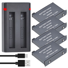 Batterie Li-ion 1700mAh Akku + chargeur pour caméra Insta360 ONE X2