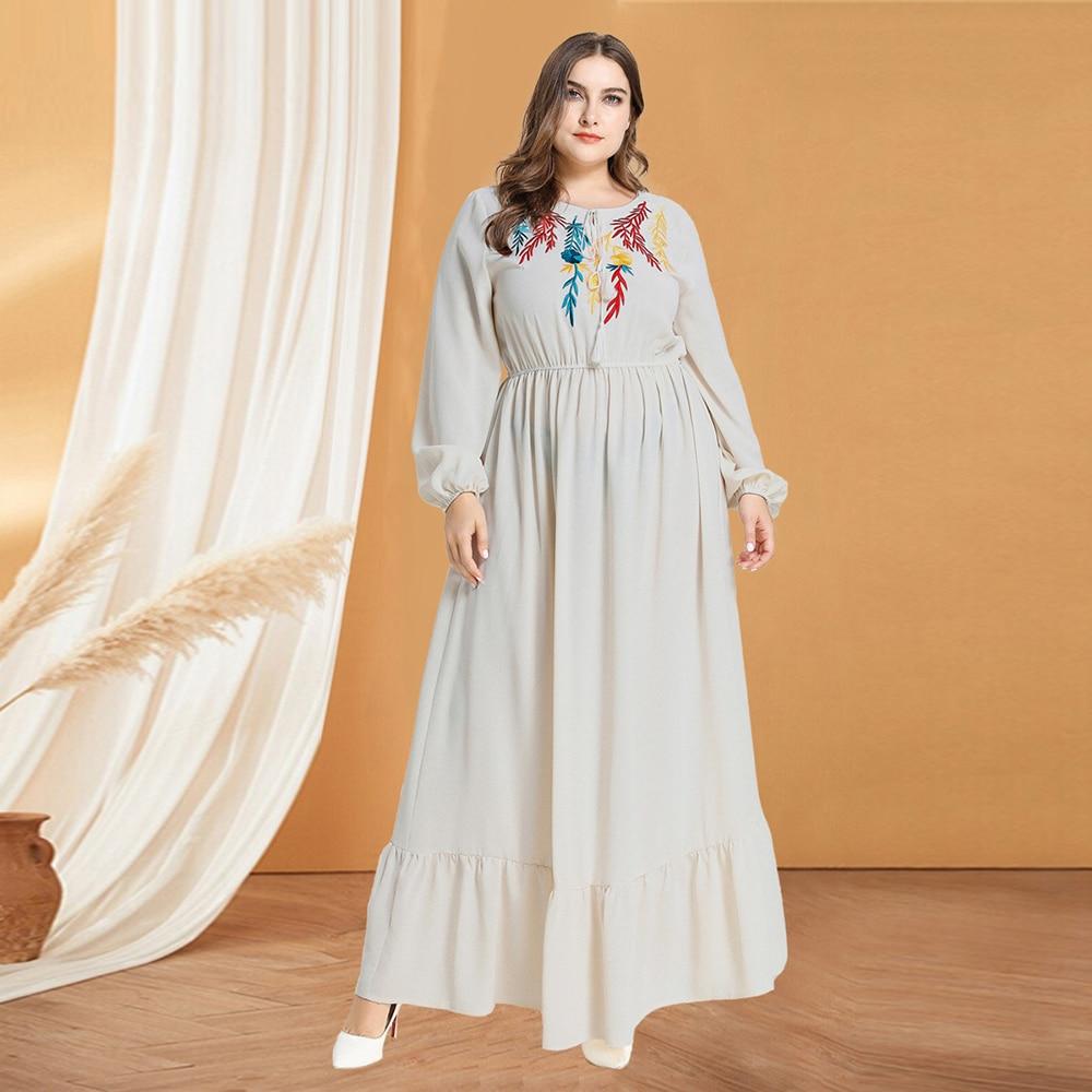 Islamic Clothing Abayas For Women Caftan Dubai Kaftan Arabic Abaya Turkey Plus Size Hijab Muslim Maxi Dress Turkish Dresses Oman
