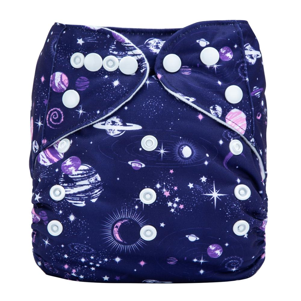 Adjustable Washable Reusable Baby Cloth Diapers Waterproof Nappies Modern Cloth Nappies N34