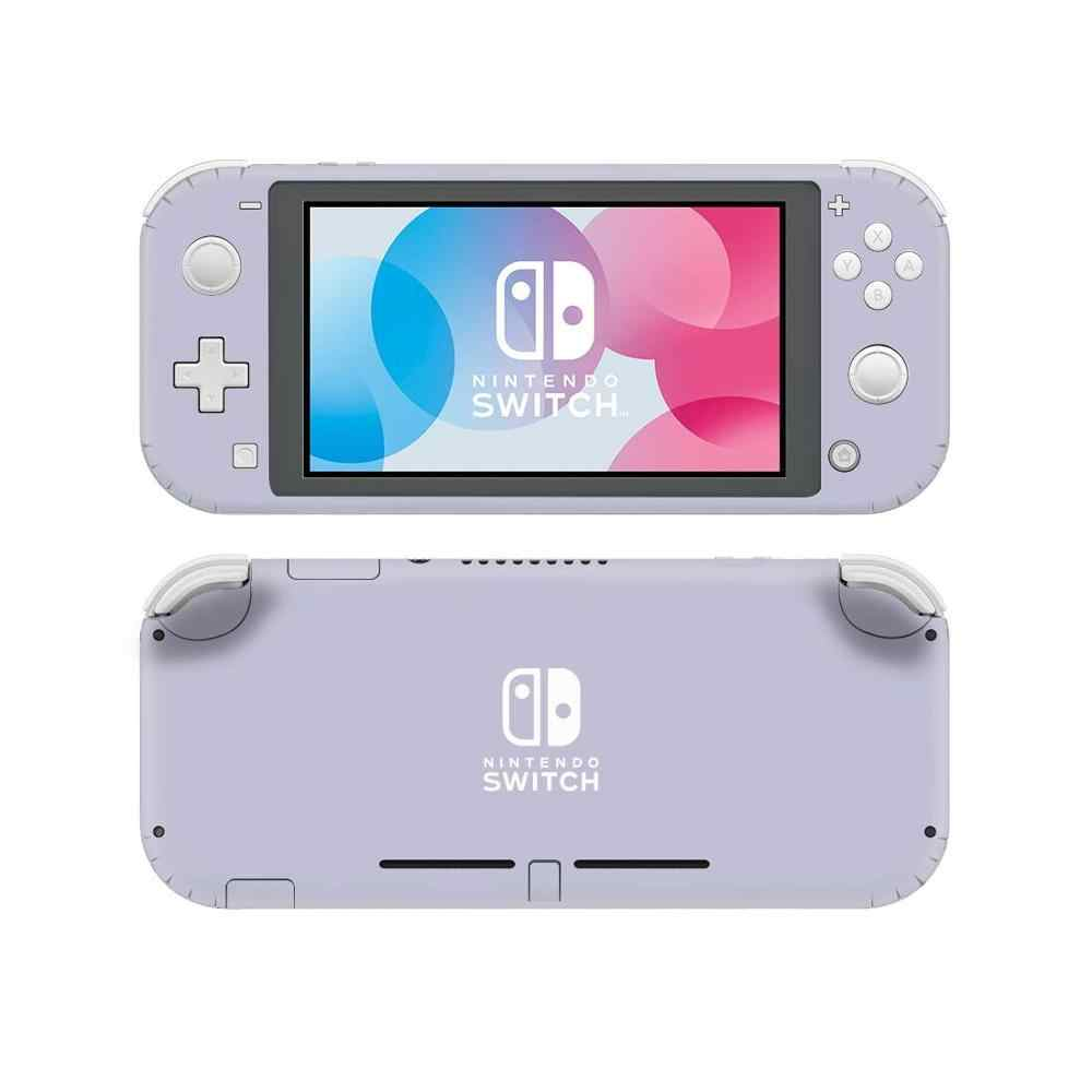Pure Color Purple NintendoSwitch Skin Sticker Decal Cover For Nintendo Switch Lite Protector Nintend Switch Lite Skin Sticker