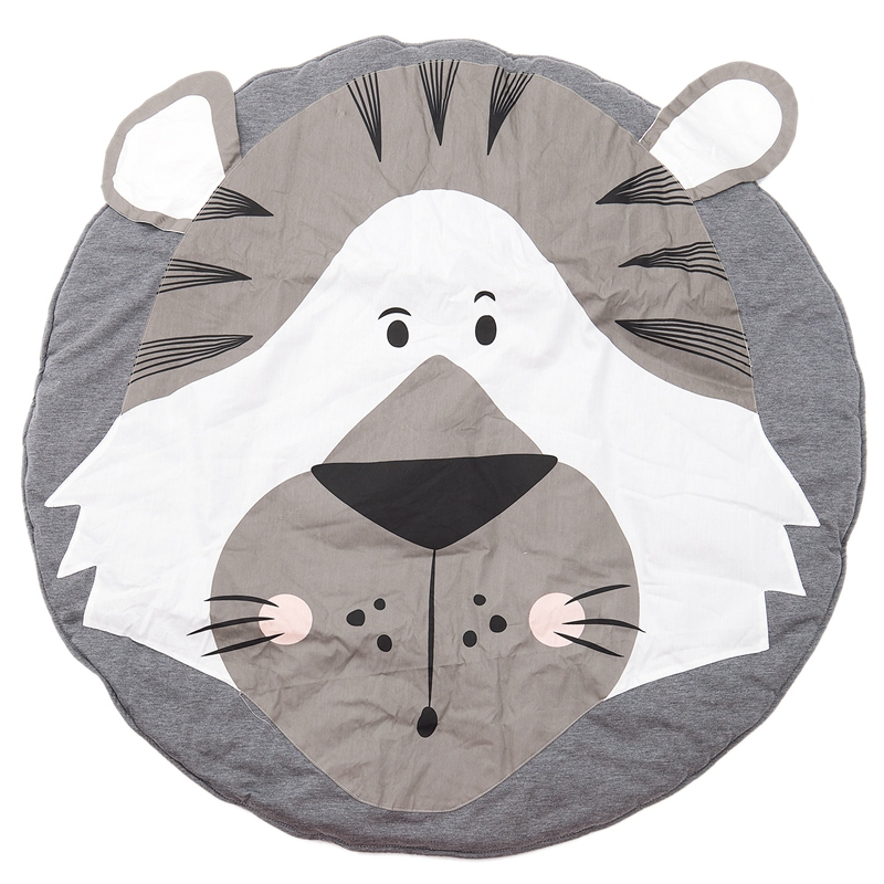 Baby Rugs Creeping Crawling Mat Cartoon Sleeping Rugs, Children Anti-Slip Game Mat Cotton Floor Play Mat Blanket Play Environmen
