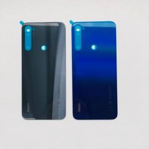 "Image 5 - Original New For 6.3"" Xiaomi Redmi Note 8T GLASS Back Battery Cover Case Housing+3M Adhesive Sticker Redmi Note 8T Case"