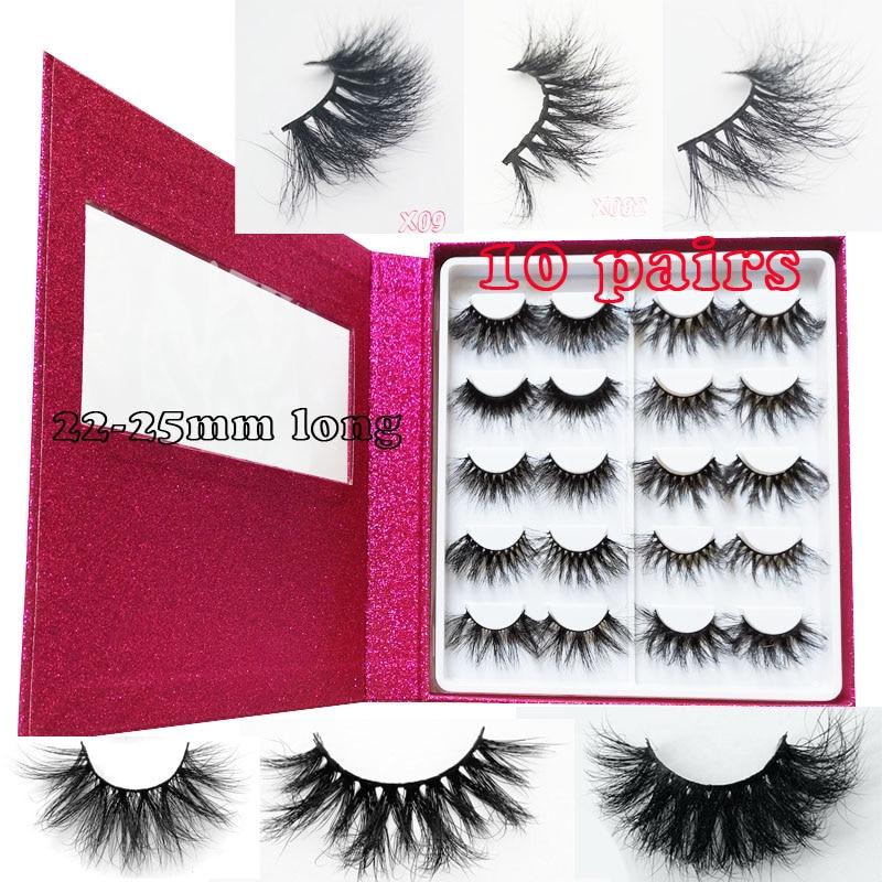 16 Pairs Book Beauty  3D Mink Lashes Fuller Thicker 3d Faux Mink Lashes 3d Mink Eyelashes Faux Mink Hair Eyelashes Custom Box