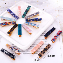 2020 New 1pc Japan Women Girls Acetic Acid Hair Clips Hairpins Print Barrettes Lady Pins Hairgrips Hair Accessories(China)