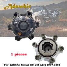 1pcs Free Wheel Bearing Hub Lock for Nissan Safari GU Y61 AT 40250 VB200