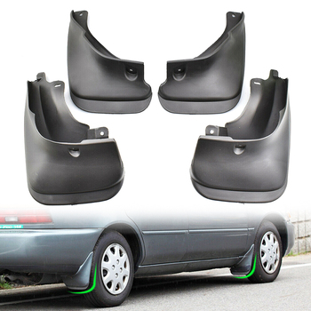 4Pieces Car Mud Flaps For Toyota Corolla Sedan 1993-1998 E100 AE100 AE102 101 Mud Flaps Splash Guards image