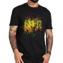 Louco fábrica Nova Camisa de T Dos Homens dos homens Negros T-Shirt Gráfico Novo Hip-Hop Tops Tees