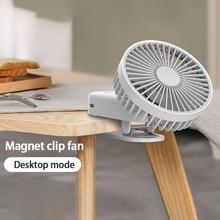 Fan Air-Conditioning-Fan Desktop Usb Mini Ce Appliances Magnetic-Clip-Fan Small Convenient