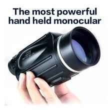 GOMU 13x50 binoculars with rangefinder waterproof telescope distance meter type monocular outdoor binoculo 114m/1000m
