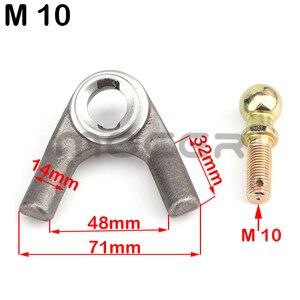 Image 4 - M10/12 Schaukel Arm kugelgelenk Kits Fit Für Chinesische ATV UTV Go Kart Buggy Quad Bike Elektrische Fahrzeug 250cc 1000w Roller Teile