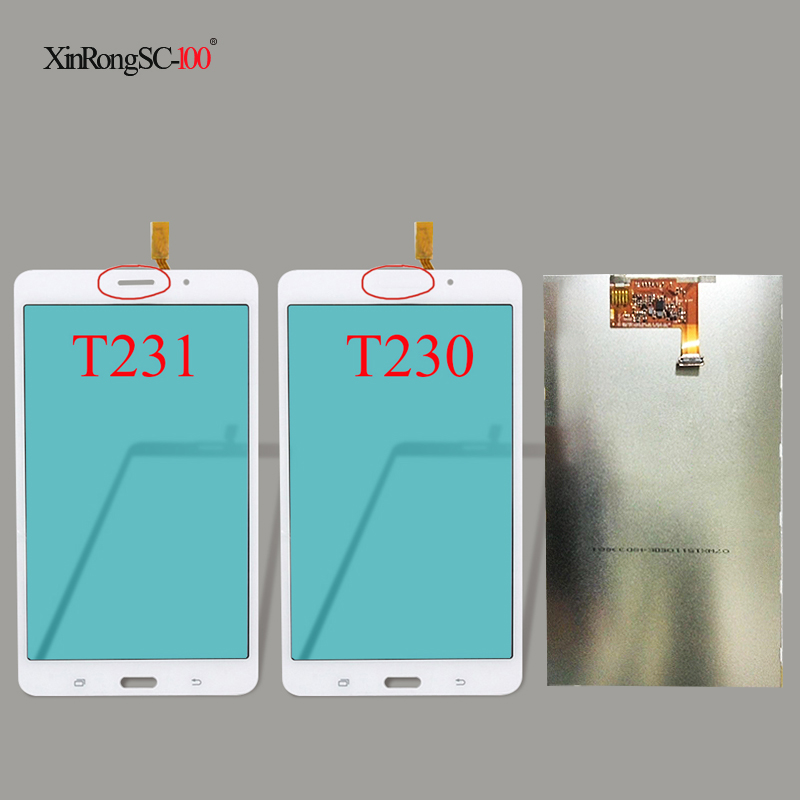 Samsung Galaxy Tab 4 7.0 T230 SM-T230NU LCD Display Screen Panel Replacement