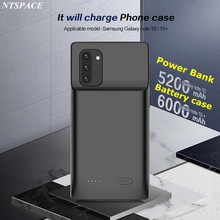 Backup Battery Charger Case For Samsung Galaxy Note 10 Portable Charge Poverbank Case For Samsung Note 10 Plus External Battery