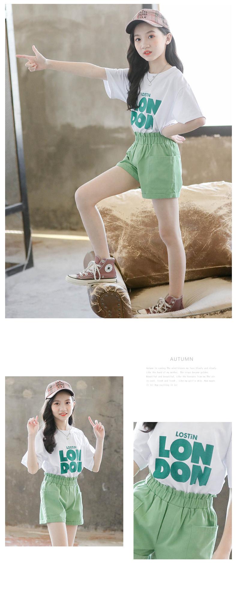 Комплект одежды для девочек новинка 2020 модная детская одежда