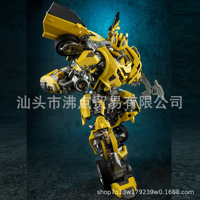 Wei Jiang Transformation Toy Jingang 5no03 War Blade Bumblebee Transformation Alloy Version Of Car Robot