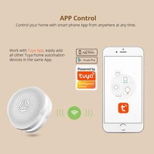Image 3 - Fuers WiFi Gateway Alarm System Tuya APP control Intelligent night light Smart home security system smart doorbell
