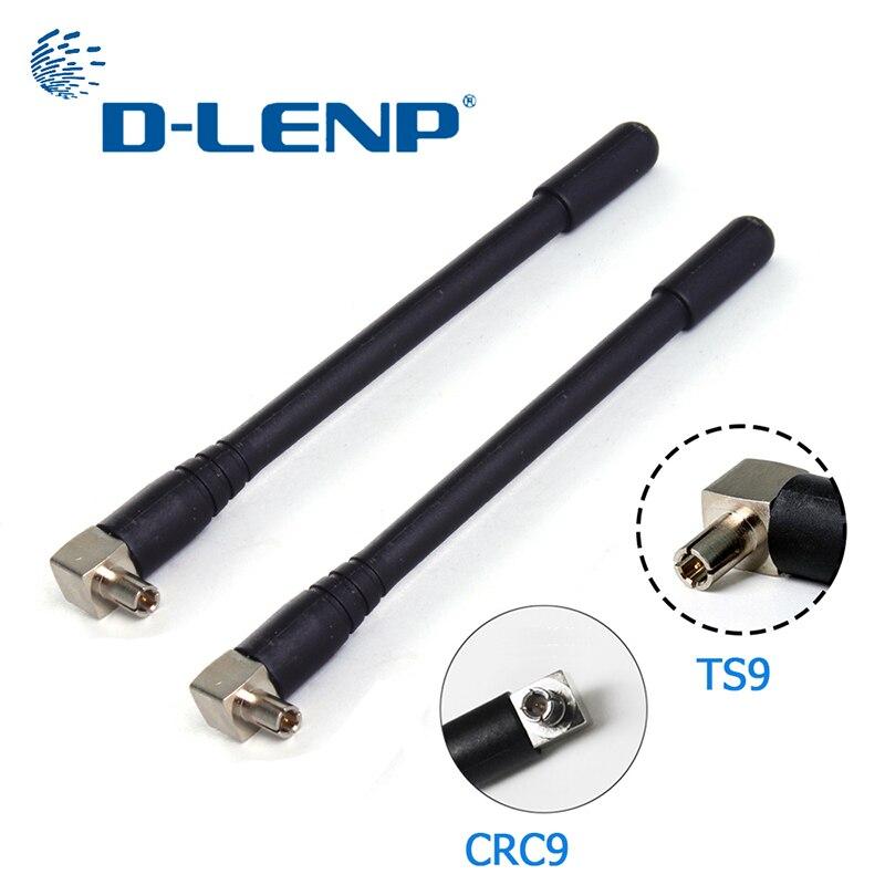 Антенна Dlenp 3G/4G с разъемом TS9/ CRC9, варианты разъемов 1920-2670 МГц для Huawei модем 3 dbi