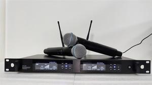 Image 2 - TKG, реальное разнообразие, 626 668 МГц, 780 822 МГц, стандартная двухканальная микрофонная система, беспроводной профессиональный микрофон