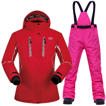 Women Ski Suit Winter Jacket And Pants High-quality Windproof Waterproof Breathable Thermal Skiing Snowboarding Suits Brands