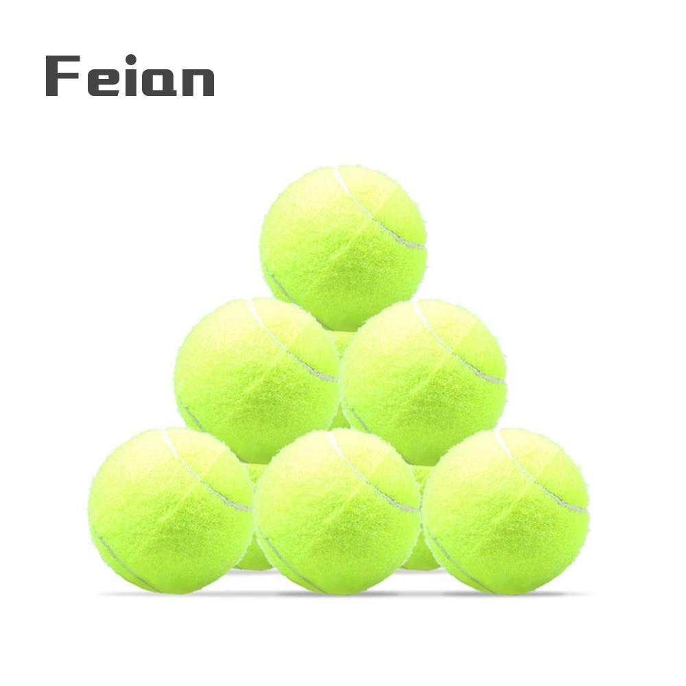 I Tennis No-Standard Class A Ball Tennis Balls Tennis Practice Ball Fun Tennis Training Cricket Ball 20 Packs Tennis Balls