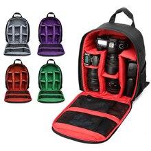 Многофункциональная камера рюкзак видео цифровая DSLR Сумка водонепроницаемая сумка для наружной камеры чехол для Nikon для Canon