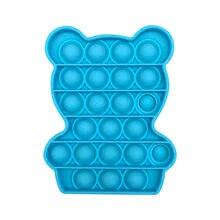 Jouet pour enfant et adulte, bulle colorée, anti-Stress, anti-stress, pour autisme, Animal, ours, # YL10