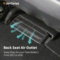 2 stücke Auto Air Outlet Abdeckung Für Tesla Modell 3 2017-2020 Unter Sitz Air Vent Anti-blocking staub Abdeckung Zubehör