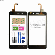 5''Mobile Touch Screen For Smartphone M80 TouchScreen Digitizer Panel Lens Sensor Front Glass Tools 3M Glue