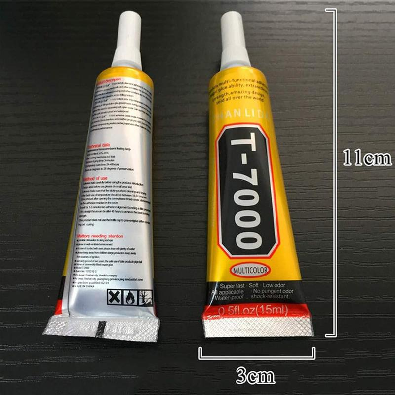 T7000 Glue Point Drill Stick Drill Acrylic Metal Plastic Diy Special Multipurpose Glue Decoration Adhesive Jewelry Crafts C7O4