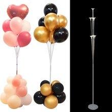 130cm 2 ensembles ballons support colonne support de ballon centres de table pour la décoration de mariage enfants fête d'anniversaire bébé douche fournitures
