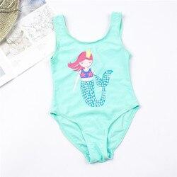 От 3 до 16 лет, детский купальный костюм для девочек, новый брендовый летний купальник для девочек, детские цельные купальные костюмы, пляжная... 6