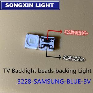 Image 2 - 2000pcs spezielle Reparatur 32 55 inch LED LCD TV hintergrundbeleuchtung mit licht streifen 2828 SMD LED perlen 3V FÜR SAMSUNG