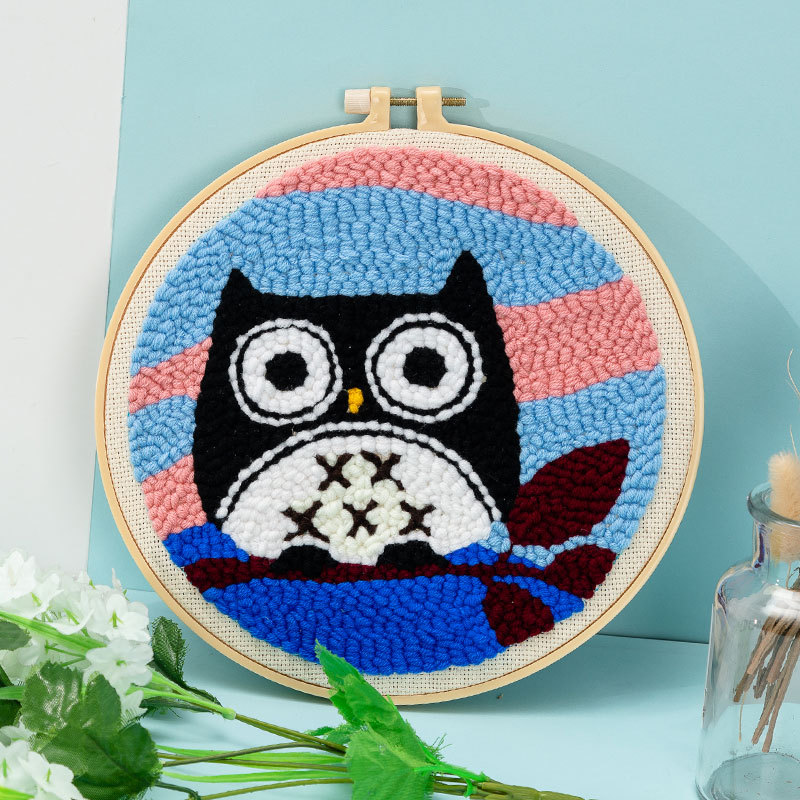 Magic Embroidery Pen Sewing Stitching Punch Needle DIY Cross Stitch Tools Kit