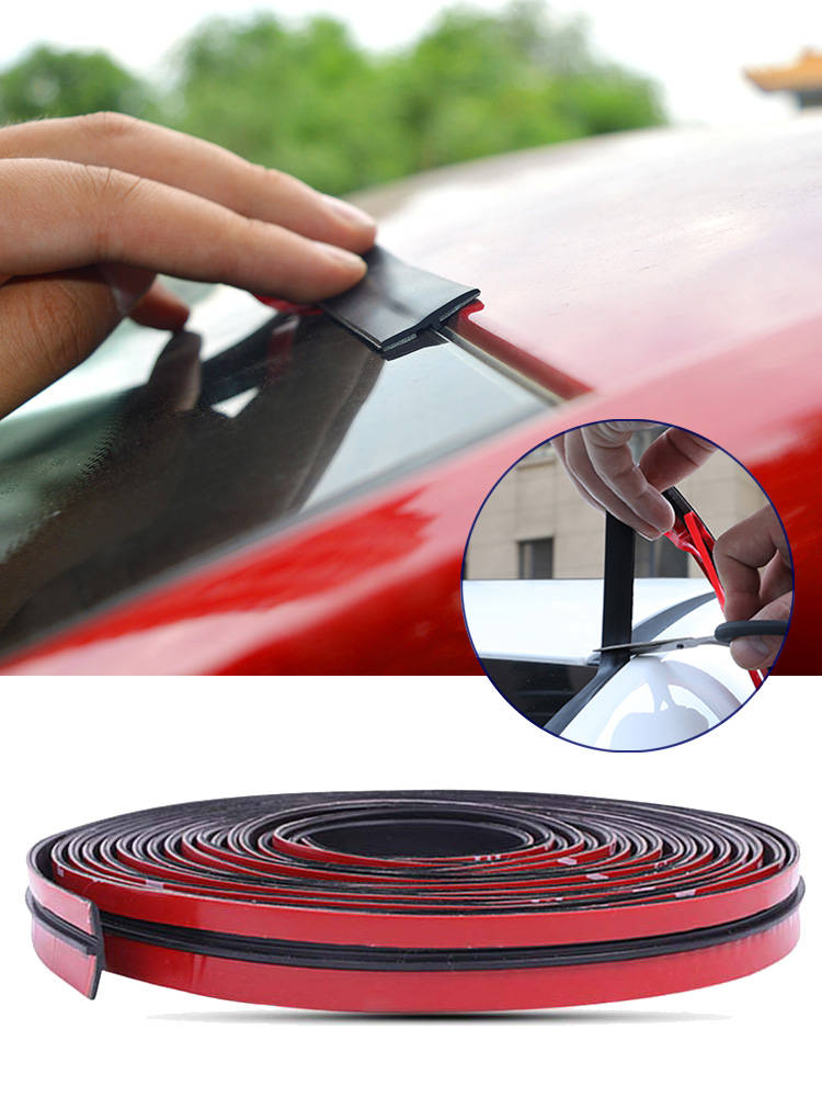 Sticker Sealing-Strip Roof-Rubber Auto-Seal-Protector Windshield Noise-Insulation-Accessories