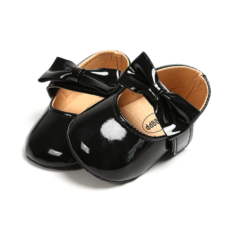 Infant Baby Shoes Girl Princess Shoes PU-Leather Newborn Girls Booties For Newborn Babies Shoes Leather Prewalkers