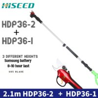 Two sets Telescopic scissors orchard garden electric pole pruner HDP36-2 free shipping