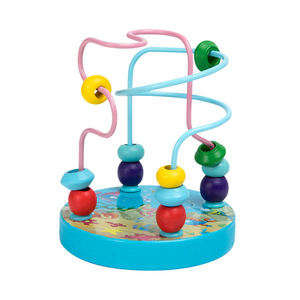 Image 4 - QWZ مونتيسوري ألعاب خشبية الطفولة ألعاب تعلم الأطفال أطفال طفل كتل خشبية ملونة التنوير لعبة تعليمية