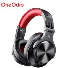 Oneodio A70 наушники профессионального диджея Портативный Регулируемый Беспроводной/Проводная гарнитура Bluetooth5.0 наушники для Запись монитор
