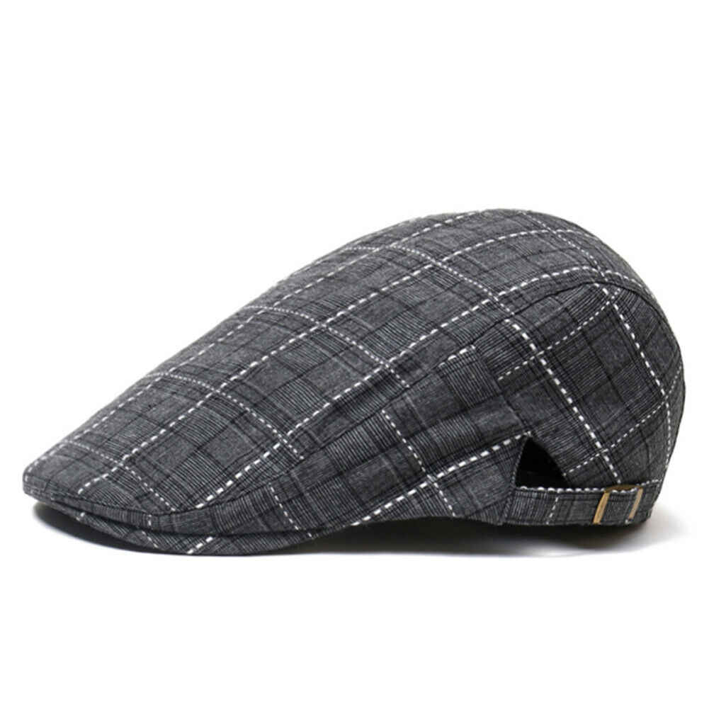 Mens Casual Gatsby Ivy Esterna Hat Golf Driving Appartamento Beret Cabbie Driver Tappo strillone