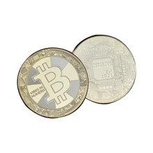Interesting gold and silver collectible coins, Dogecoins, Bitcoins, Lucky Coin memorabilia, home decor crafts and table decor