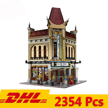 Leping 15006 City Street View Palace Cinema Building 2354pcs Model Blocks Bricks Children Toy